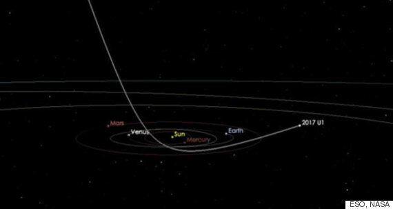 외계에서 온 첫 '인터스텔라 소행성'이