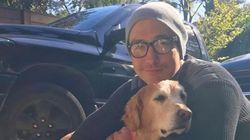 다니엘 헤니가 한국 개농장에서 구조된 개를
