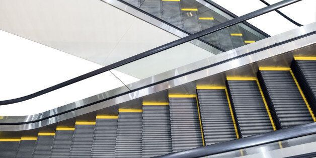 Escalator technology up and down
