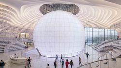 중국 톈진에 엄청난 도서관이 문을 열었다(사진,