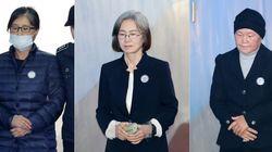 최순실 비롯, '정유라 이대 특혜' 관계자들의
