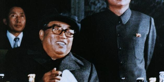 NORTH KOREA:File photo released by the Korea News Service dated October 1980 shows North Korean leader...