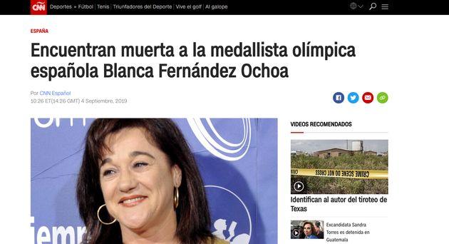 Así ha reaccionado la prensa internacional a la muerte de Blanca Fernández