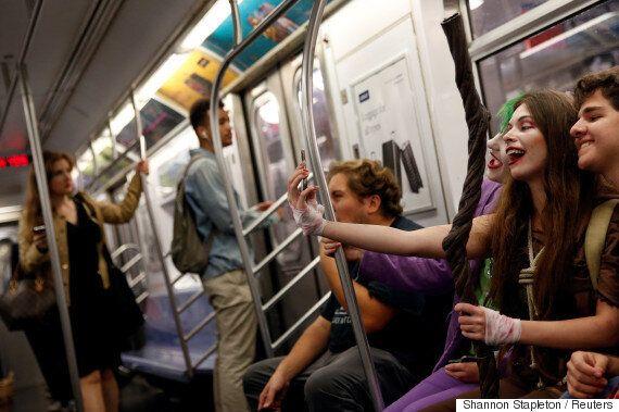뉴욕 대중교통에서