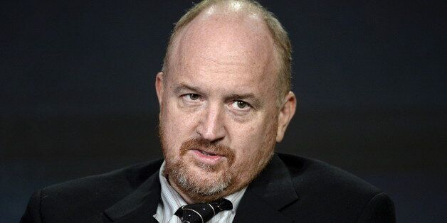 Executive producer Louis C.K. participates in a panel for the FX Networks