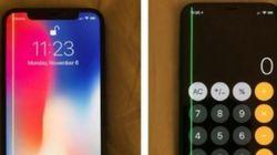 아이폰X 일부 제품에서 '녹색 세로줄' 현상
