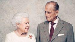 결혼 70주년 맞은 영국 여왕 부부의 커플