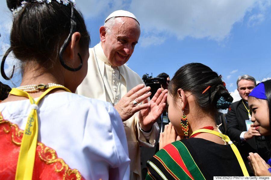 [화보] 프란치스코 교황이 '불교국가' 미얀마를