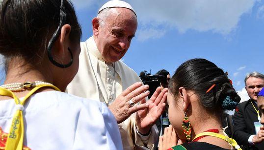 [화보] 교황이 '불교국가' 미얀마를