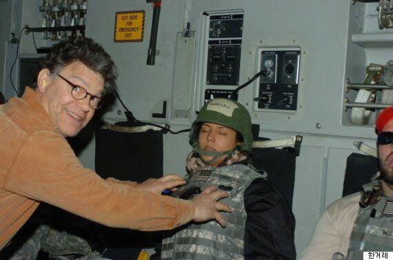 미 상원의원, 여성 잠든 사이 가슴에 손 올리고