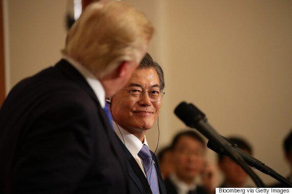 트럼프가 한국 대통령에게