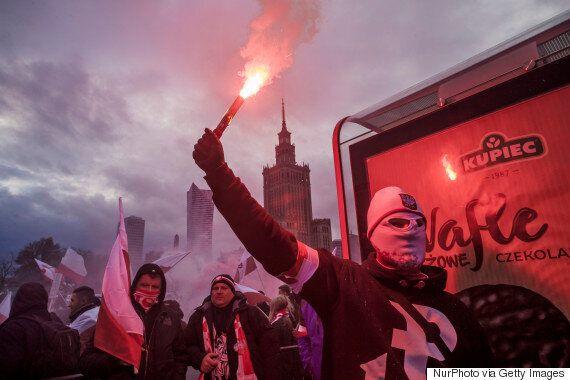 폴란드 독립기념일에 유럽 최대 극우집회가 열렸다