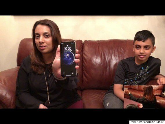 이 10세 자녀가 엄마의 아이폰X 페이스ID 보안을 뚫었다
