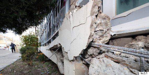 포항 지진 피해액은 현재까지 약 522억으로