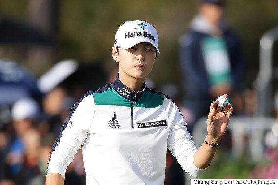 골프 선수 박성현이 LPGA서 39년 만의 신기록을