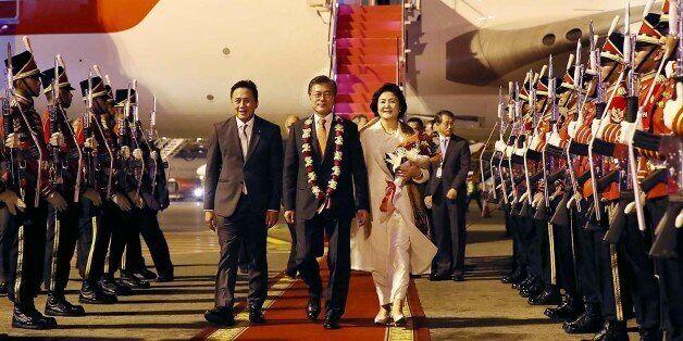 한국·베트남 정상들이 양국관계에 대해 논한