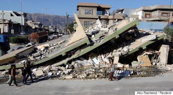 이란에서 발생한 '규모 7.3' 강진 사망자가 300명을
