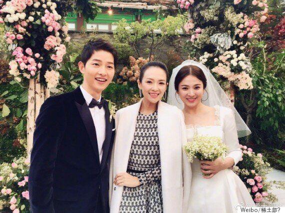 장쯔이가 송중기-송혜교 부부 결혼식 불법촬영 연루설에 입장을