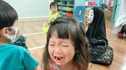 1년 전, 가오나시 분장한 아이의 올해