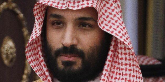 MOSCOW, RUSSIA - MAY 30, 2017: Saudi Arabia's Defence Minister Mohammad bin Salman Al Saud looks on ahead...