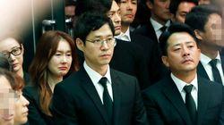 故 김주혁의 마지막 길을 배웅하는 이들의