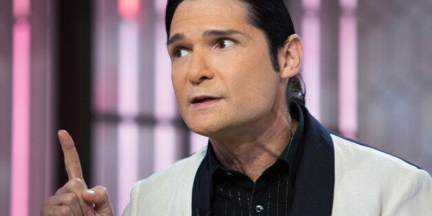 TODAY -- Pictured: Corey Feldman on Monday, October 30, 2017 -- (Photo by: Nathan Congleton/NBC/NBCU...
