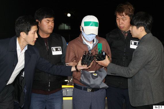 윤송이 사장 부친 살해 피의자 검거