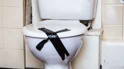 지하철 화장실 변기에서 나온 의외의