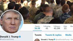 주지사 선거 패배에 대해 트럼프가 한국에서 트윗을