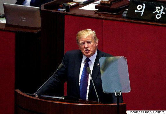 [국회연설] 도널드 트럼프가 북한을 향해