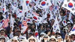 오늘 친박단체들이 개최한 대규모 도심집회