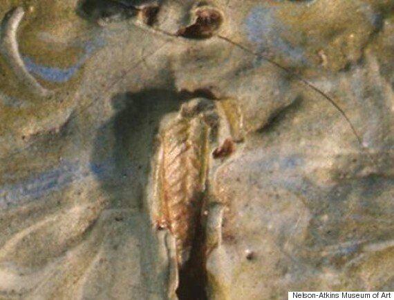 반 고흐 그림에서 128년 된 벌레가