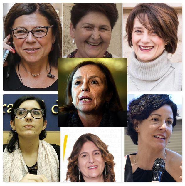 Le 7 ministre del governo Conte