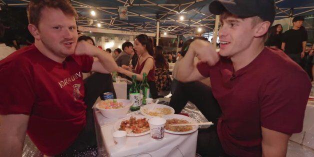 외국인의 눈에 비친 한국 대학 축제는 어떤