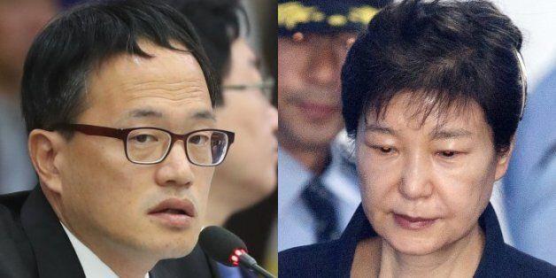 박주민 의원이 박근혜의 감방 규모를 국제기준으로