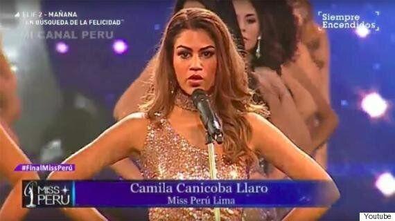 미스 페루 선발대회 참가자들이 신체사이즈 대신 밝힌 끔찍한