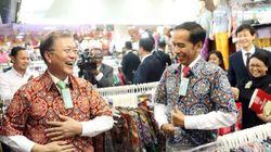 인도네시아 대통령이 문대통령에게 선물한