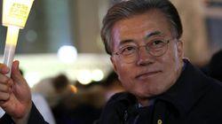 문대통령의 '촛불 1주년' 기념
