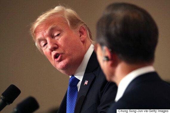 트럼프의 북한 관련 폭탄 발언은