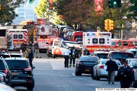 미국 뉴욕 맨해튼 차량돌진