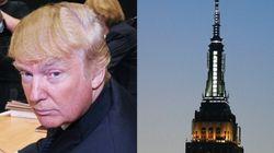 트럼프의 엠파이어 스테이트 빌딩 그림이