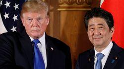 트럼프, 일본에 무기구매·무역적자 해소