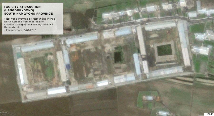 북한 비밀 교도소와 '재교육' 수용소 위성 사진이 최초로
