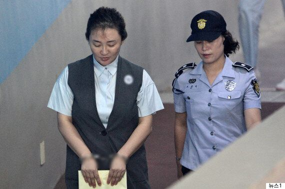 '뇌물공여 혐의' 박채윤 대표에게 실형이