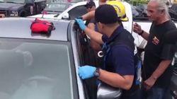 괌에서 차에 아이들을 방치한 한국인 판사의