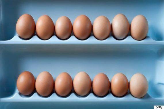 계란을 냉장고 문에 보관하면 안되는