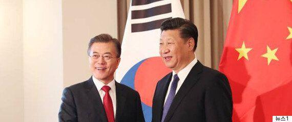 한국과 중국이 '사드 갈등 봉합하고 관계 회복' 공식