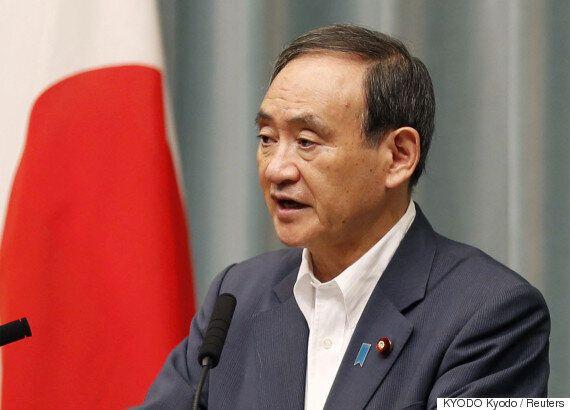 '독도새우'와 '위안부 피해자 할머니'에 대한 일본 관방장관의