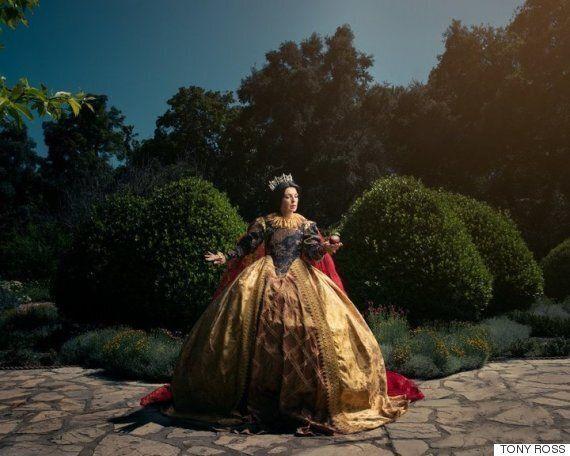 여왕이 된 디즈니 공주들을