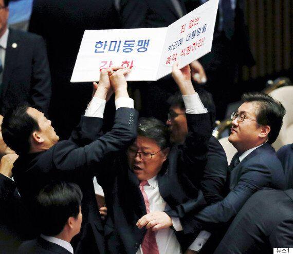 국회의원이 트럼프에게 '박근혜 석방'을 요구하다